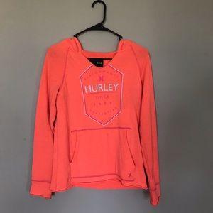 Harley performance hoodie pockets orange sz M